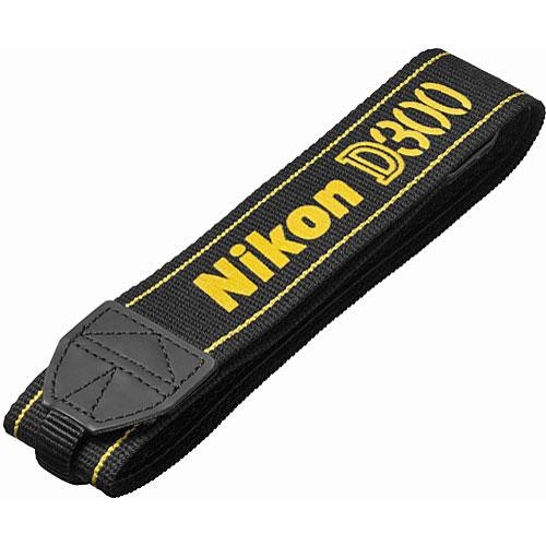 Nikon AN-D300 Replacement Neck Strap for D300 DSLR
