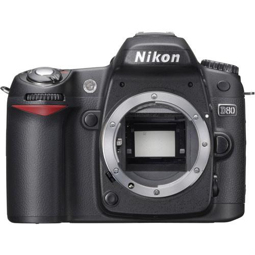 Nikon D80 SLR Digital Camera (Camera Body)