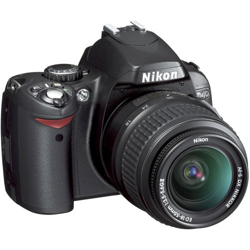Nikon D40 SLR Digital Camera Kit with 18-55mm Lens