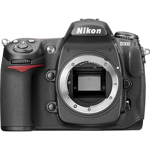Nikon D300 DSLR Camera (Body Only, Refurbished by Nikon USA)