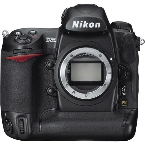 Nikon D3X DSLR Camera (Body Only, Refurbished by Nikon USA)