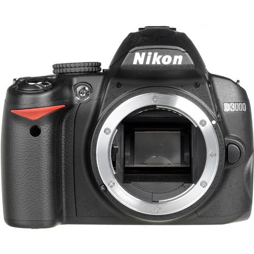 Nikon D3000 SLR Digital Camera Body
