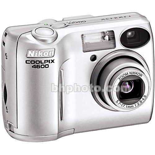 Nikon Coolpix 4600, 4.0 Megapixel, 3x Optical/4x Digital Zoom, Digital Camera