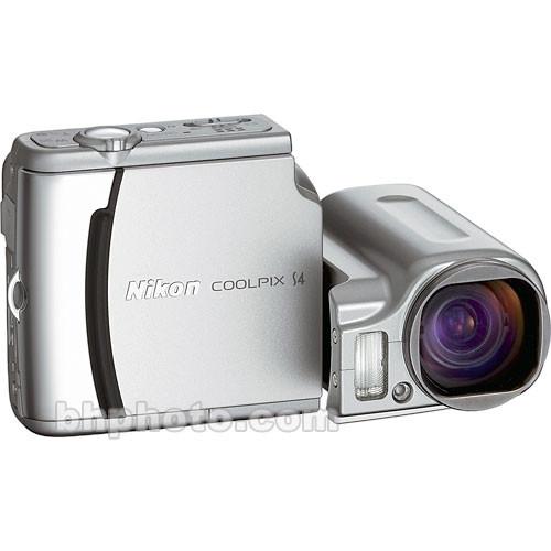 Nikon Coolpix S4, 6.0 Megapixel, 10x Optical/4x Digital Zoom, Digital Camera
