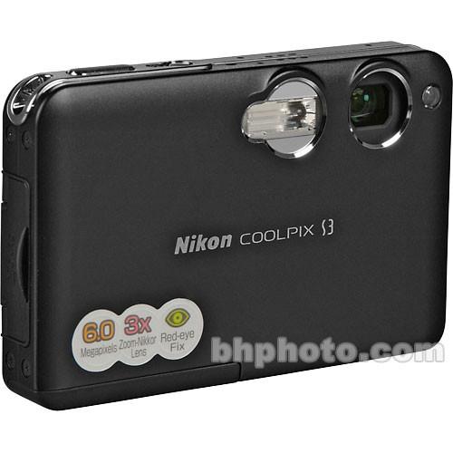 Nikon Coolpix S3 Digital Camera