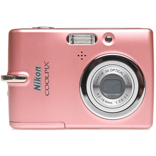 Nikon Coolpix L10 Digital Camera (Pink)