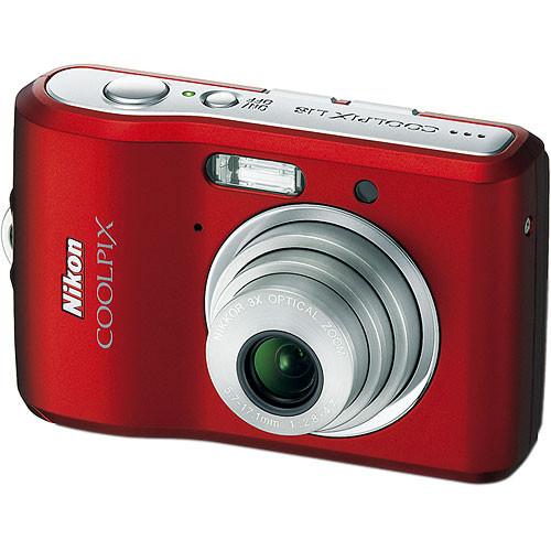 Nikon Coolpix L18 Digital Camera (Ruby Red)