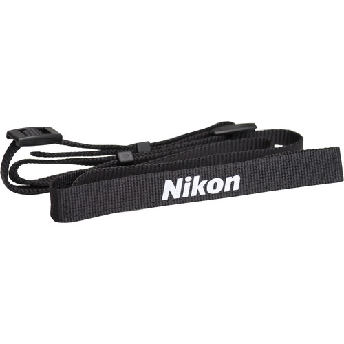 Nikon AN-CP16 Neck Strap for Nikon Coolpix P5000 Digital Camera (Black)