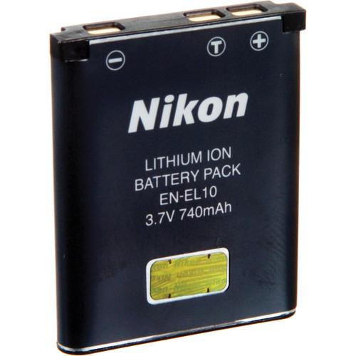 Nikon EN-EL10 Rechargeable Lithium-Ion Battery