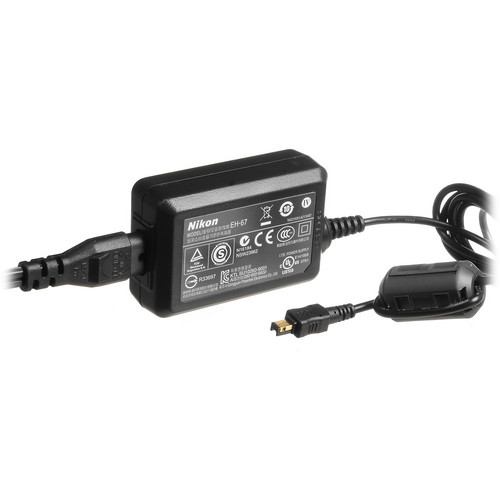 Nikon EH-67 AC Adapter for Select Nikon Coolpix Cameras