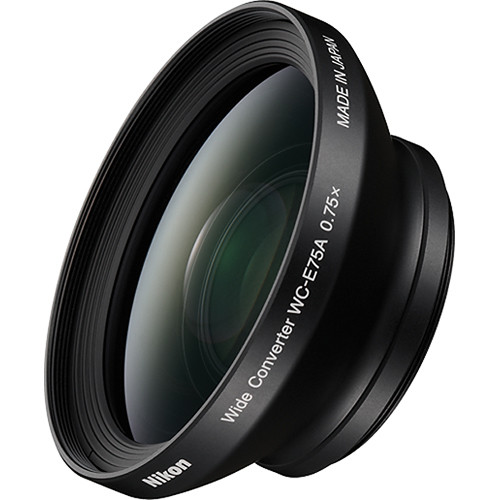 Nikon WC-E75A Wide-Angle Converter Lens