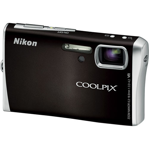 Nikon Coolpix S52c Digital Camera (Black)