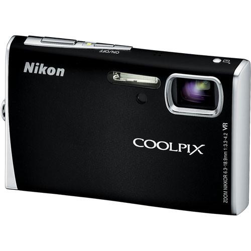 Nikon Coolpix S52 Digital Camera (Black)