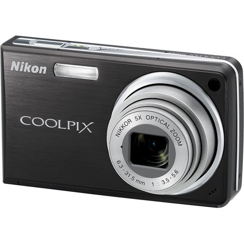Nikon Coolpix S550 Digital Camera (Graphite Black)