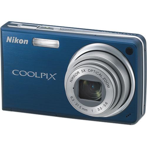 Nikon Coolpix S550 Digital Camera (Cool Blue)