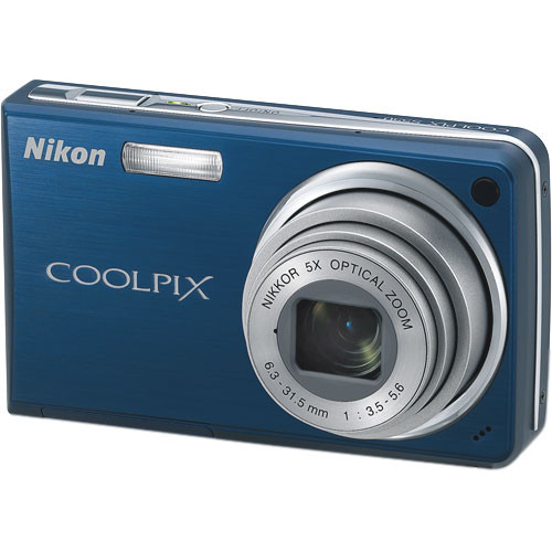 Nikon Coolpix S550 Digital Camera (Cool Blue)