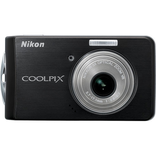 Nikon Coolpix S520 Digital Camera (Black)