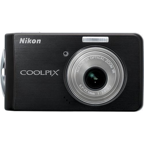 Nikon Coolpix S520 Digital Camera (Black)