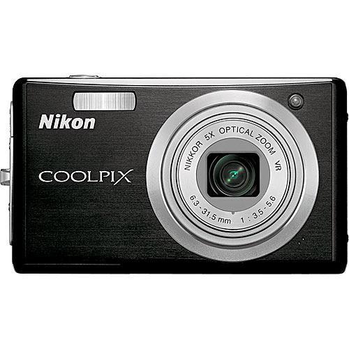 Nikon Coolpix S560 Digital Camera (Graphite Black)