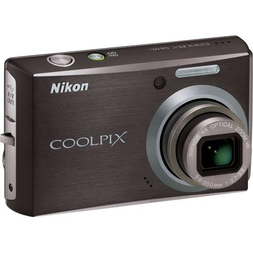 Nikon Coolpix S610c Digital Camera (Midnight Black)