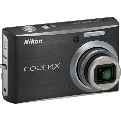 Nikon Coolpix S610 Digital Camera (Midnight Black)