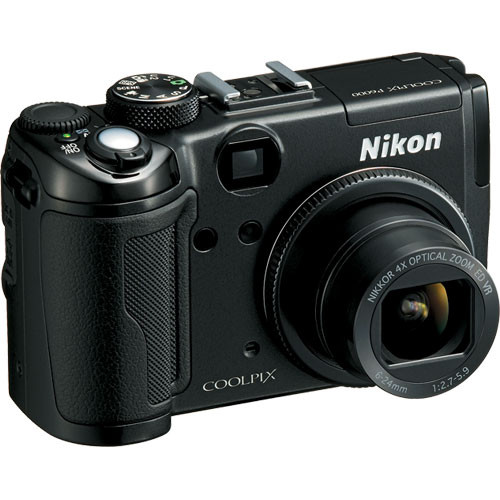 Nikon Coolpix P6000 Digital Camera (Black)