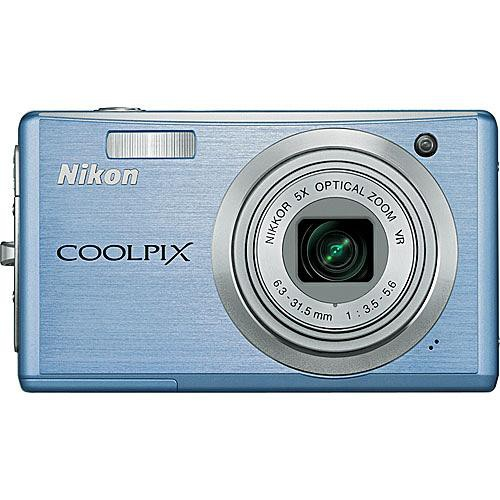 Nikon Coolpix S560 Digital Camera (Cool Blue)