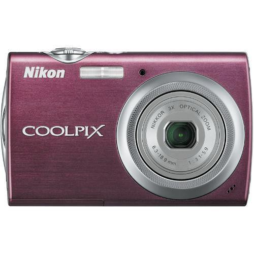 Nikon Coolpix S230 Digital Camera (Plum)