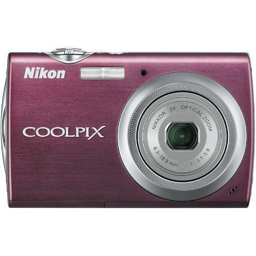Nikon Coolpix S230 Digital Camera (Plum)