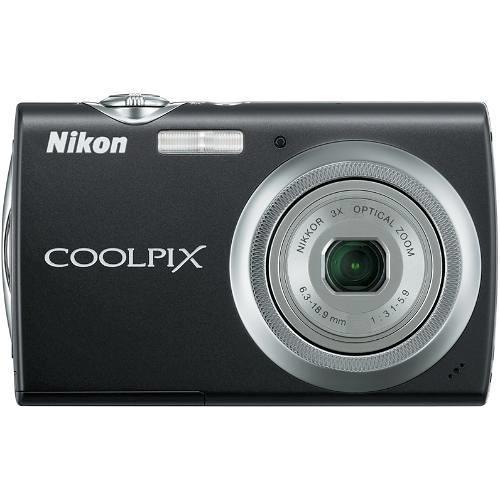 Nikon Coolpix S230 Digital Camera (Jet Black)