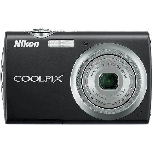 Nikon Coolpix S230 Digital Camera (Jet Black)