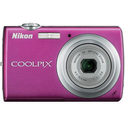 Nikon Coolpix S220 Digital Camera (Magenta)