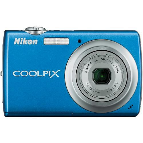 Nikon Coolpix S220 Digital Camera (Cobalt Blue)