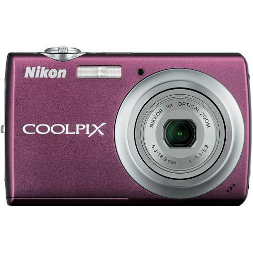 Nikon Coolpix S220 Digital Camera (Plum)