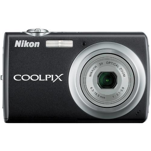 Nikon Coolpix S220 Digital Camera (Jet Black)