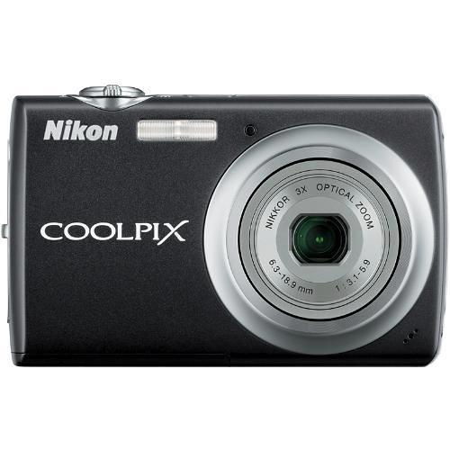 Nikon Coolpix S220 Digital Camera (Jet Black)
