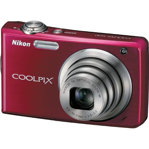 Nikon Coolpix S630 Digital Camera (Ruby Red)