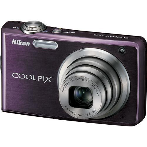 Nikon Coolpix S630 Digital Camera (Royal Purple)