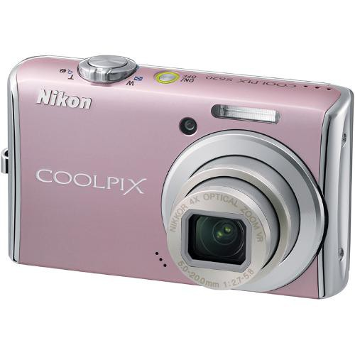 Nikon Coolpix S620 Digital Camera (Dusty Pink)