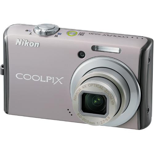 Nikon Coolpix S620 Digital Camera (Rich Pearl)
