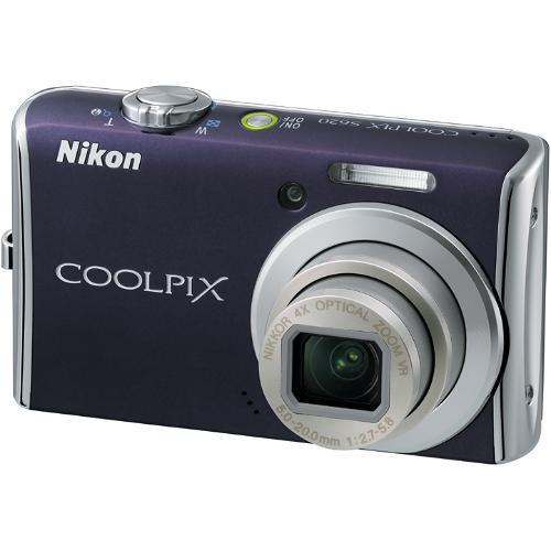 Nikon Coolpix S620 Digital Camera (Noble Purple)