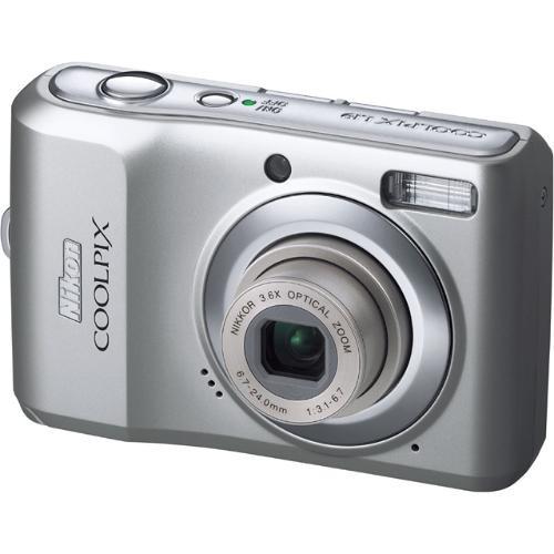 Nikon Coolpix L19 Digital Camera (Smooth Silver)