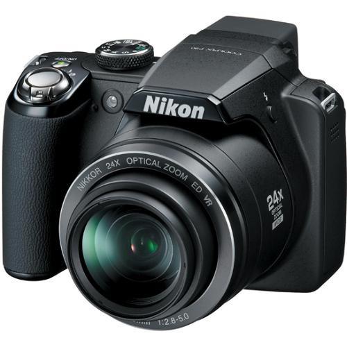 Nikon Coolpix P90 Digital Camera (Matte Black)
