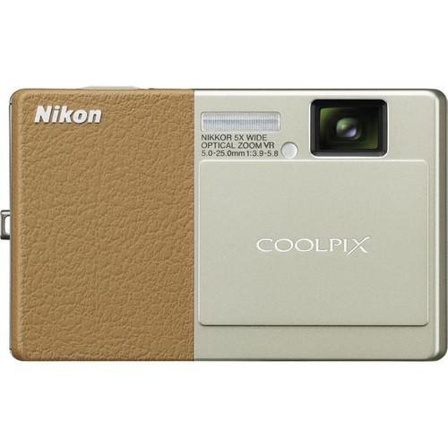 Nikon CoolPix S70 Digital Camera (Brown)