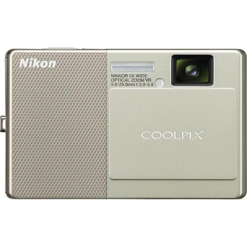 Nikon CoolPix S70 Digital Camera (Beige)