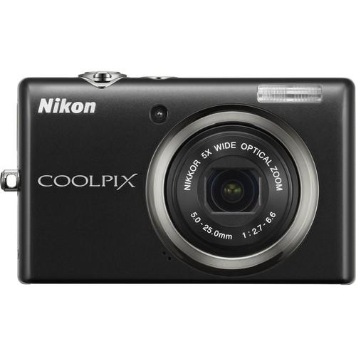Nikon CoolPix S570 Digital Camera (Black)