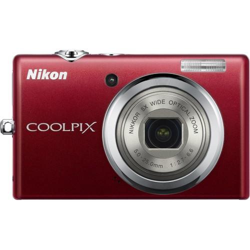 Nikon CoolPix S570 Digital Camera (Red)