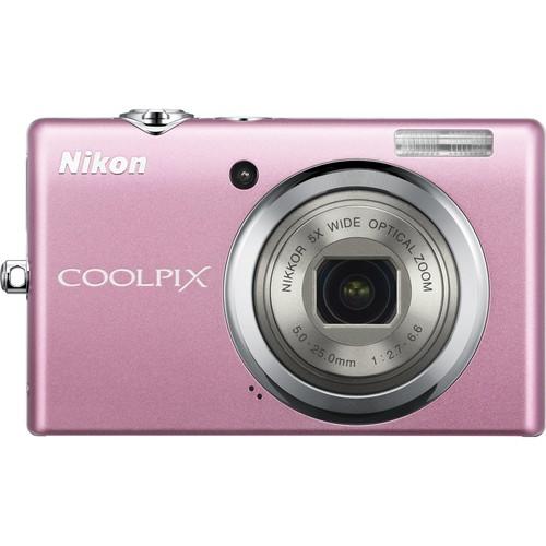 Nikon CoolPix S570 Digital Camera (Pink)