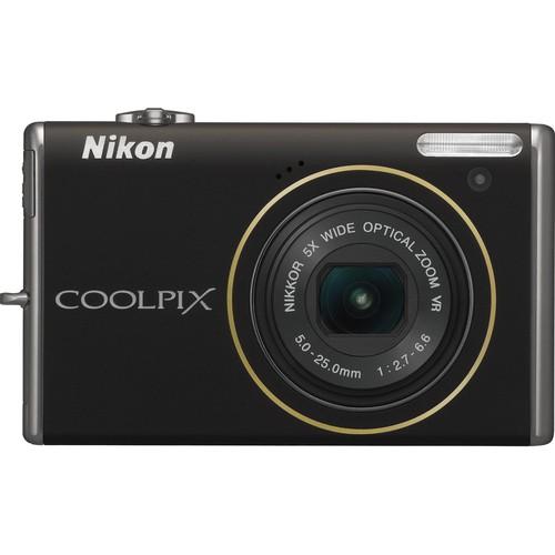 Nikon CoolPix S640 Digital Camera (Black)