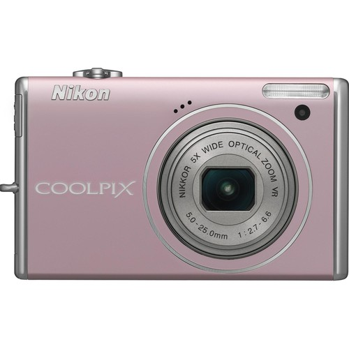 Nikon CoolPix S640 Digital Camera (Pink)